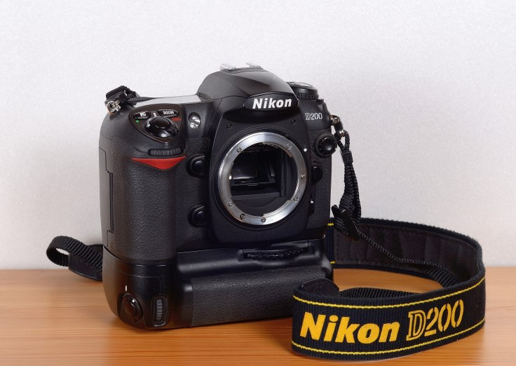 Nikon D200 with MB-200 Battery Grip
